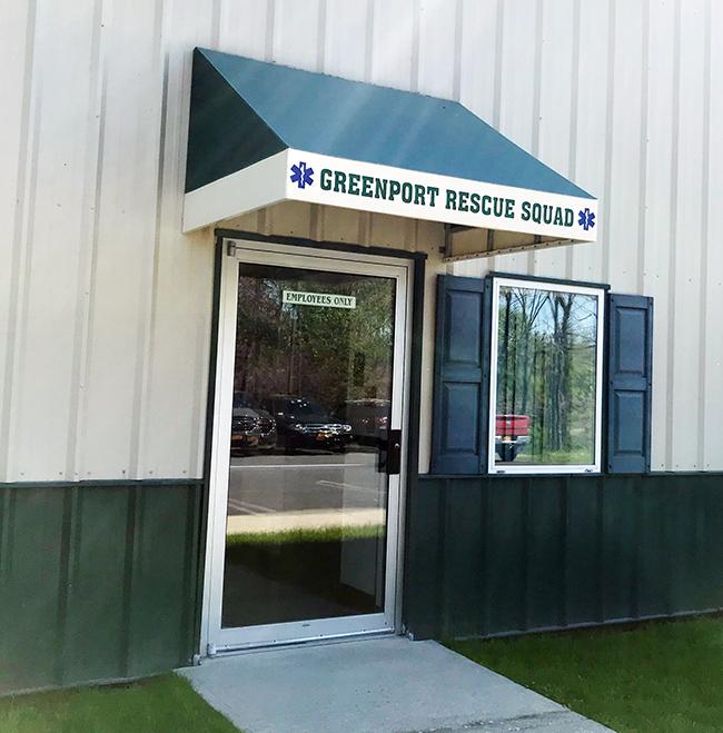 The door to Greenport Rescue