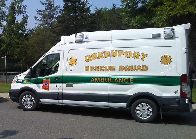 Greenport Rescue Ambulance 410