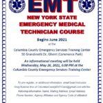 Image for EMT Class Begins June 2021